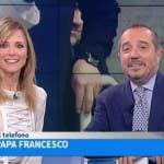UnoMattina, Papa Francesco al telefono