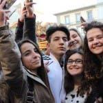 Selfie con i ragazzi de Il Collegio