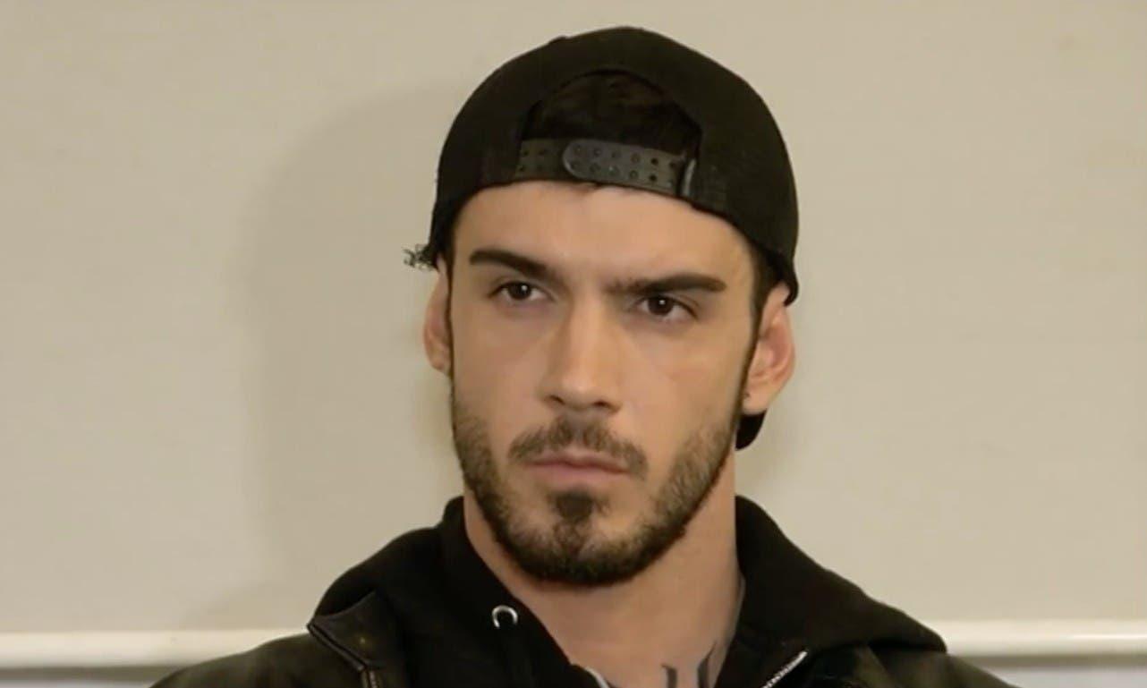 Lucas Peracchi nel video pubblicato su Witty TV