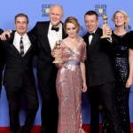 cast di the crown golden globe 2017