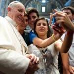 Selfie del Papa