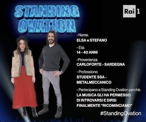 Elsa e Stefano