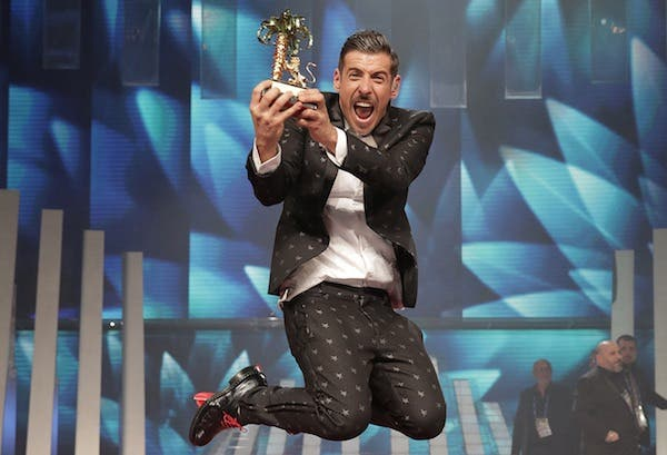 sanremo 2017 francesco gabbani trionfa su youtube e in radio