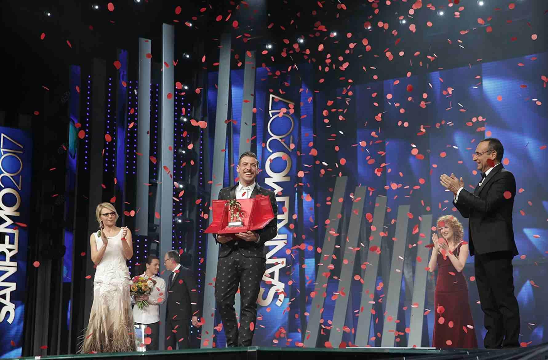 Francesco Gabbani vince il Festival di Sanremo 2017 - Occidentali's Karma