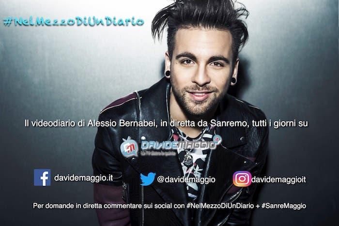 #NelMezzoDiUnDiario - Alessio Bernabei