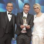 Sanremo, conduttori e Francesco Gabbani -iwan651