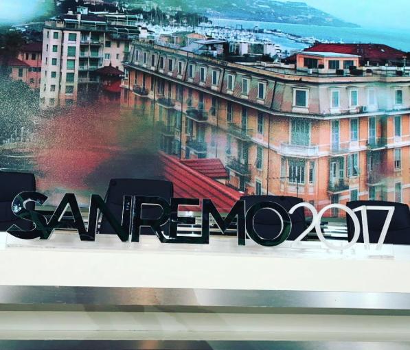 Sala stampa Sanremo 2017