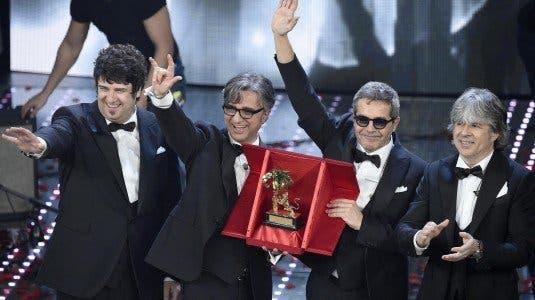 Gli Stadio vincono Sanremo 2016