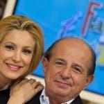 Adriana Volpe e Giancarlo Magalli