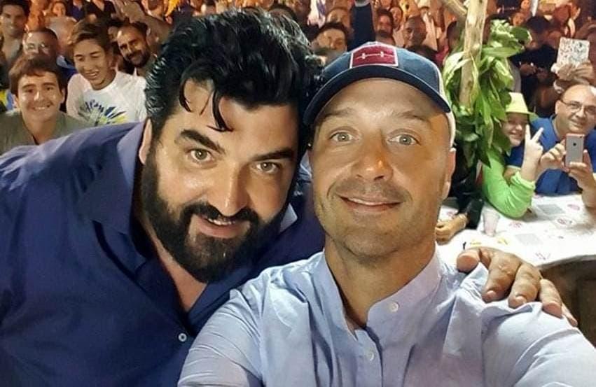 Antonino Cannavacciuolo e Joe Bastianich