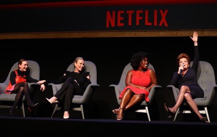 Britt Robertson, Chelsea Handler, Uzo Aduba, Kate Mulgrew
