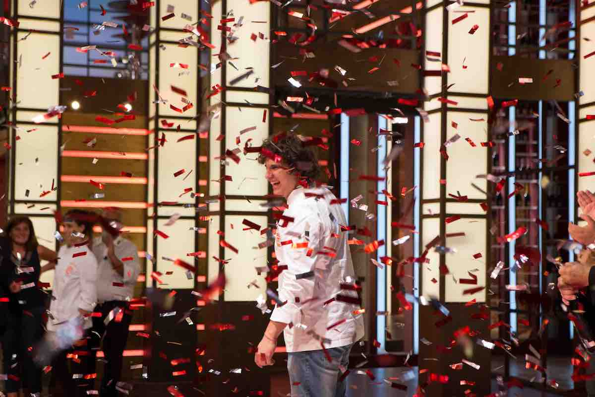 Valerio vince Masterchef Italia 6