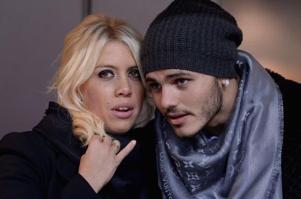 Wanda Nara e Mauro Icardi