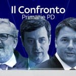 Confronto tv Primarie Pd