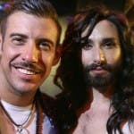 Francesco Gabbani e Conchita Wurst