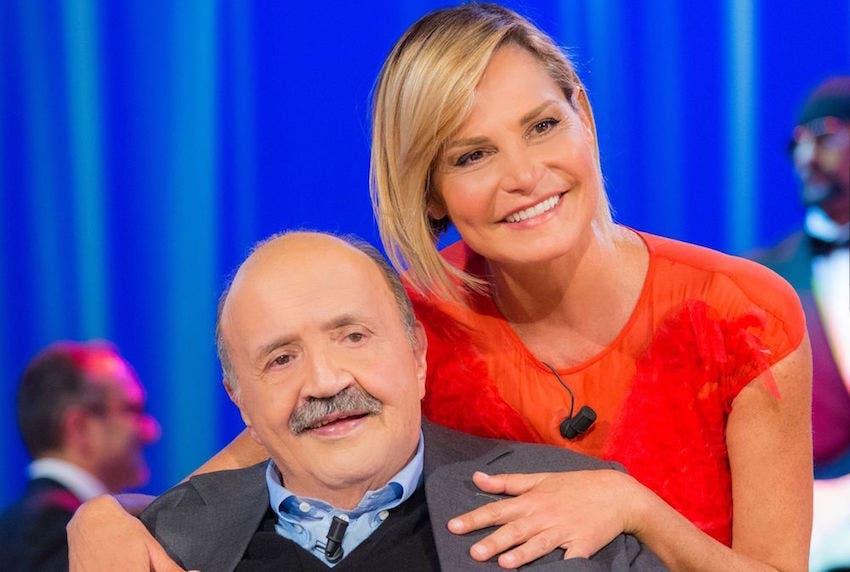 Maurizio Costanzo e Simona Ventura