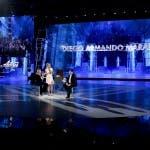 Maria De Filippi, Simona Ventura e Maradona (4) - Amici 2017