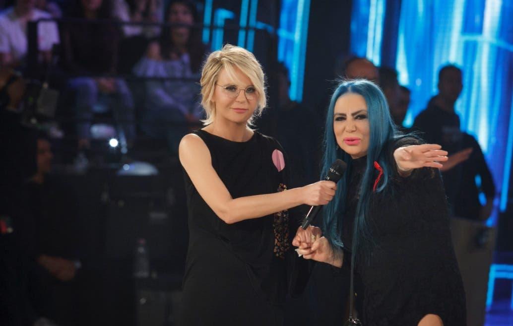 Maria De Filippi e Loredana Bertè - Amici 2017