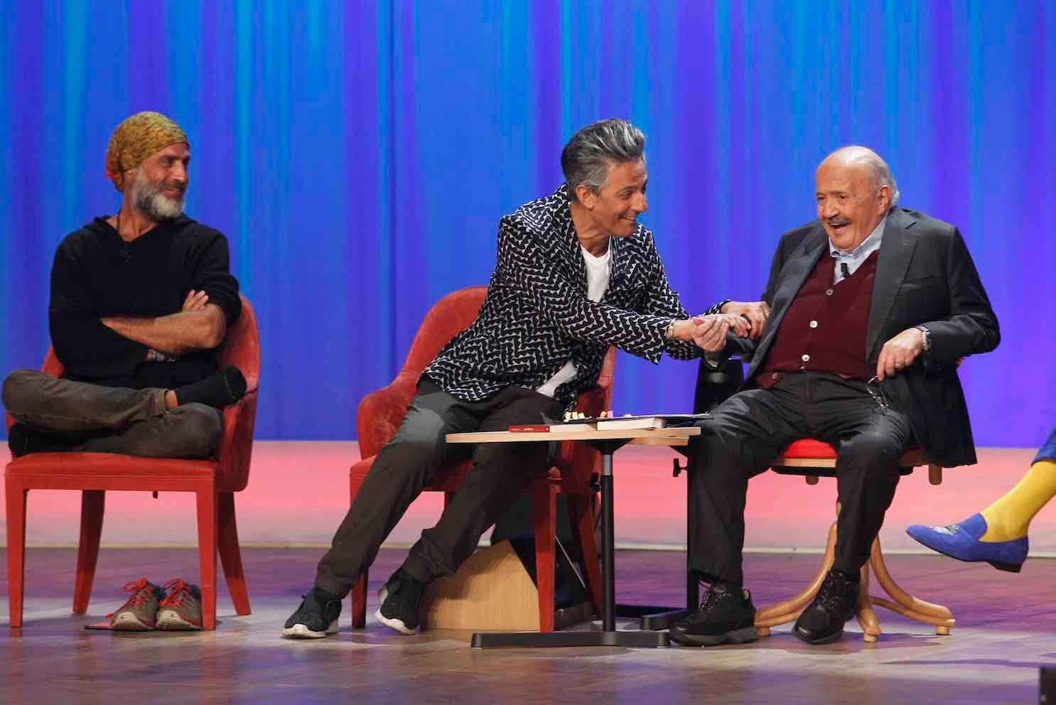 Maurizio Costanzo Show - Fiorello e Raz Degan