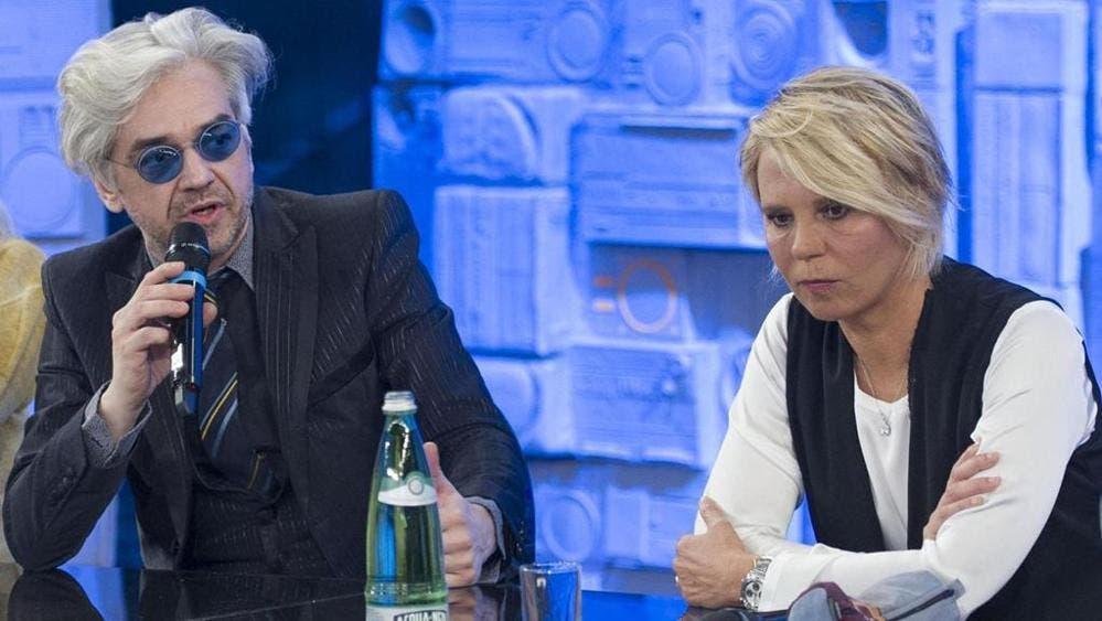 Morgan - Maria De Filippi - Amici