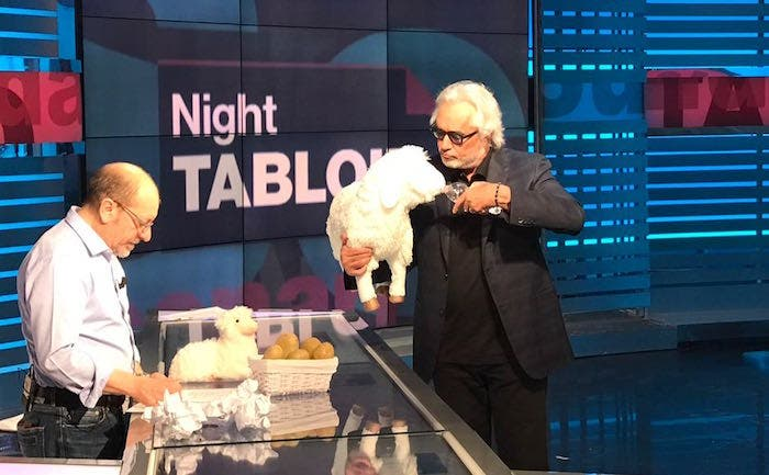 Night Tabloid briatore agnellino