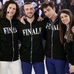AMICI FINALISTI Sebastian,Andreas,Riccardo e Federica