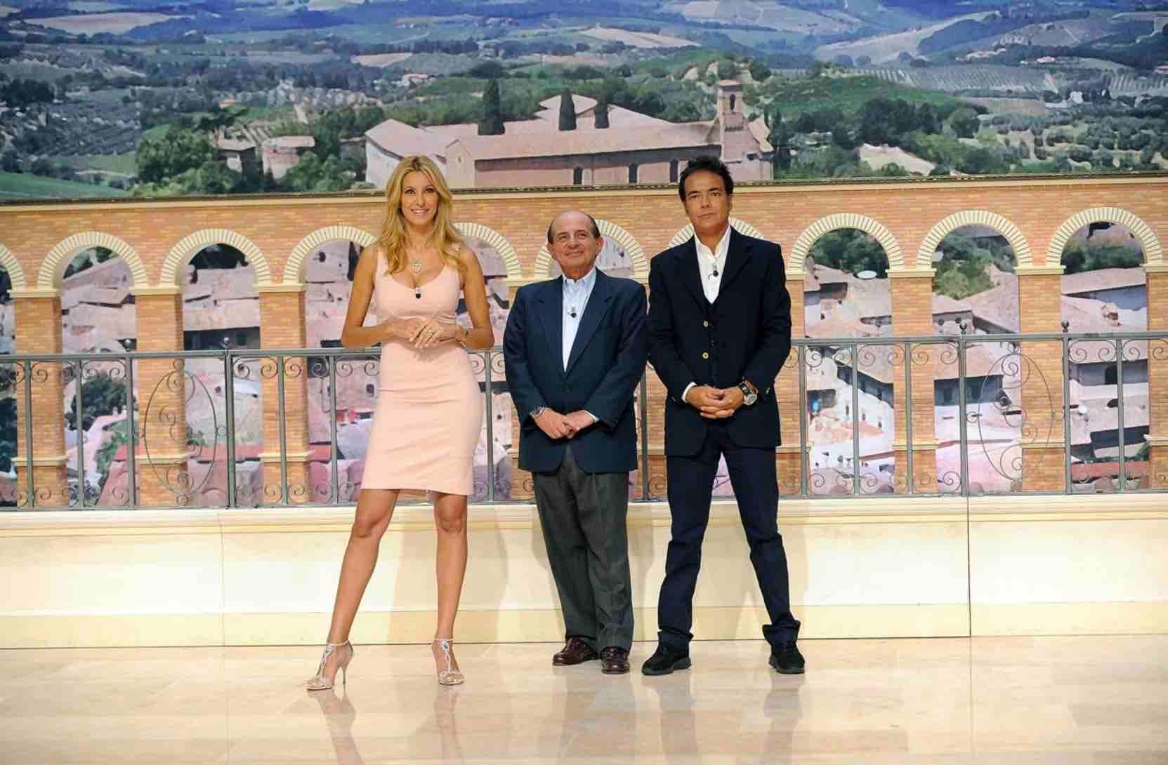 Adriana Volpe, Giancarlo Magalli e Marcello Cirillo