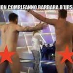 Corti e Onnis nudi da Barbara D'urso