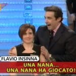 Flavio Insinna, fuori onda