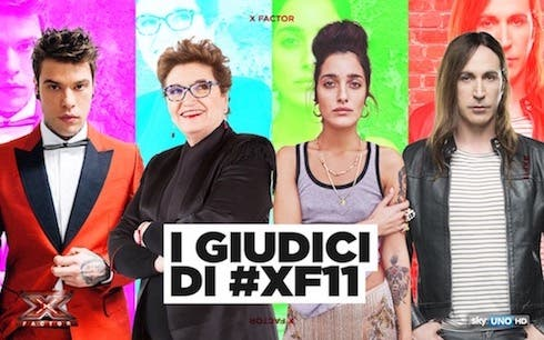 Giudici X Factor 2017