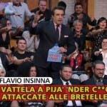 Striscia la Notizia, Fuori onda di Flavio Insinna