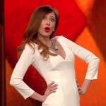 Virginia Raffaele imita Belen