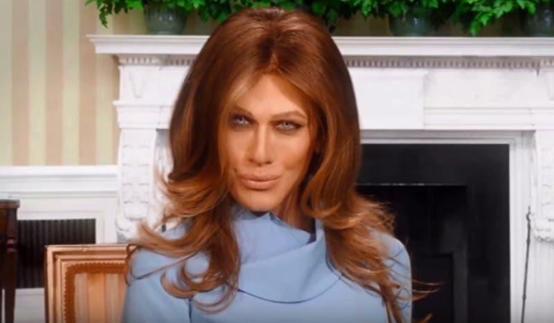 Virginia Raffaele imita Melania Trump, Facciamo che io ero terza puntata