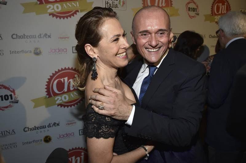 Barbara D'Urso e Alfonso Signorini
