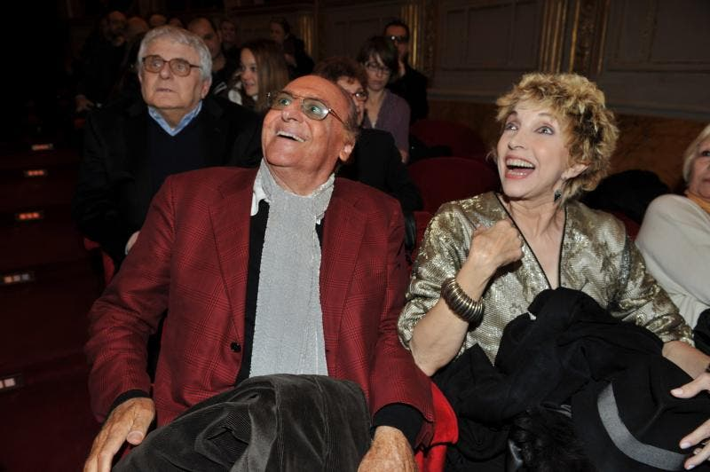Renzo Arbore e Mariangela Melato