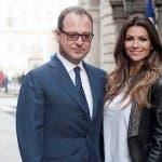 Giorgio Mulè e Alessia Ventura