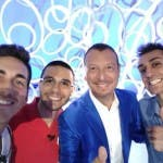 I Tre di Denari - Selfie con Amadeus