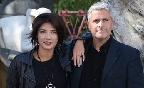 Valentina Petrini e Enrico Lucci