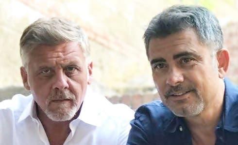 Fabio De Caro e Beppe Zarbo