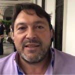 Sigfrido Ranucci, conduttore di Report.