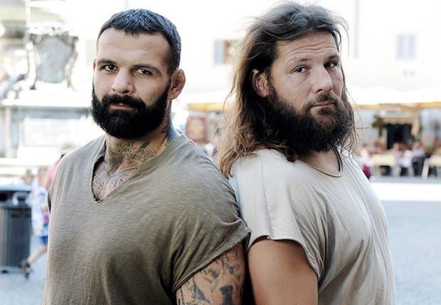 Alessio Sakara e Martin Castrogiovanni