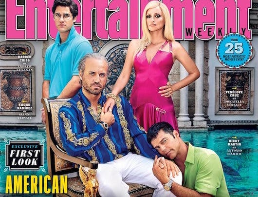 American Crime Story: The Assasination of Gianni Versace (copertina di EW)