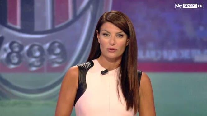 Ilaria D'Amico - Sky Calcio Show