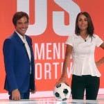 Marco Lollobrigida (Il Sabato della DS) e Giorgia Cardinaletti (La Domenica Sportiva)