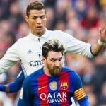 Ronaldo contro Messi