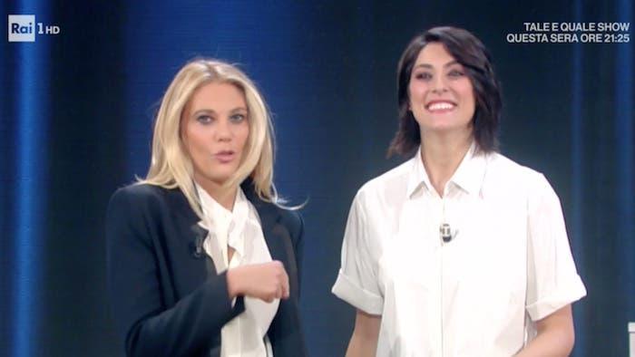 Eleonora Daniele e Elisa Isoardi