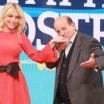 Laura Forgia e Giancarlo Magalli