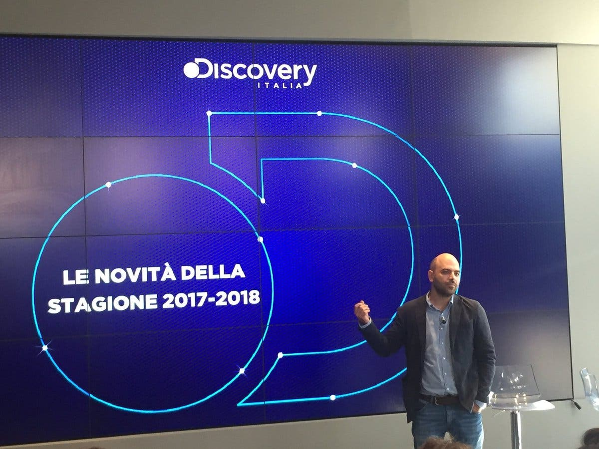 Roberto Saviano - Palinsesti Nove 2017/2018