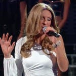 Annalisa Minetti imita Celine Dion