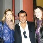 Elena Ossola e Angela Tuccia con un giovane Davide Maggio